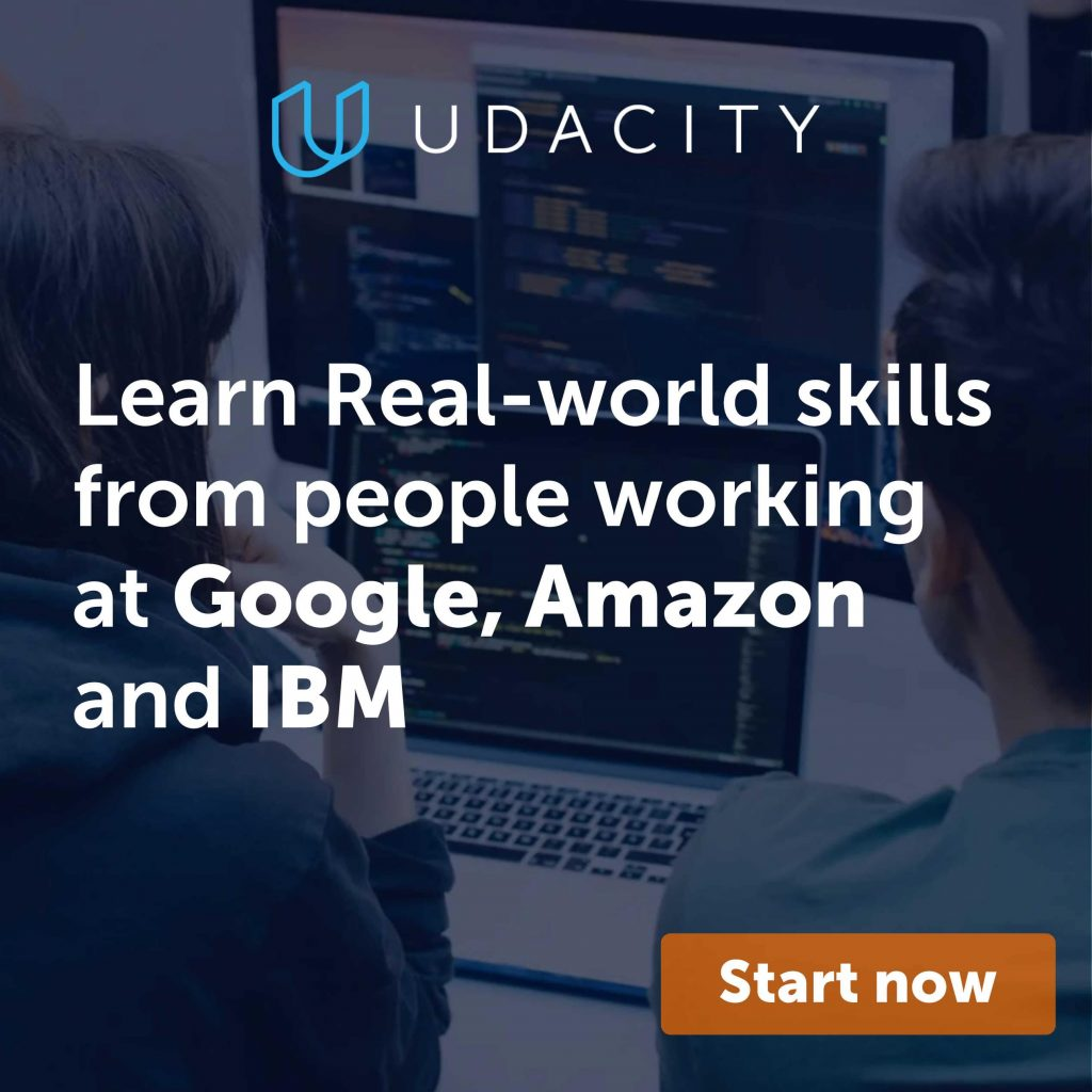 Learn Real-world skills from people working at Google, Amazon and IBM